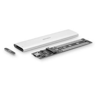 Rack extern USB 3.1 Gen 2 pentru SSD SATA M.2, Lindy L43285