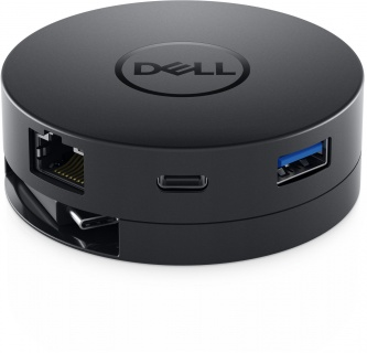 Docking station USB-C la 1 x HDMI-A, 1 x VGA, 1 x Displayport, 1 x USB 3.0-A, 1 x USB-C, 1 x Gigabit, Dell DA300