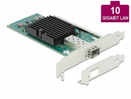 PCI Express la 1 x SFP+ Slot 10 Gigabit LAN, Delock 90479