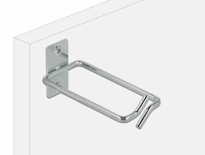 Suport metalic pentru cabluri montare in cabinet 80 x 40mm, Delock 66514
