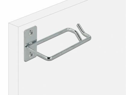 Suport metalic pentru cabluri montare in cabinet 80 x 40mm, Delock 66517