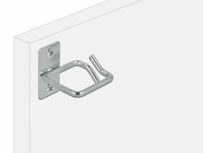 Suport metalic pentru cabluri montare in cabinet 40 x 40mm, Delock 66516