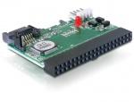 Convertor IDE 40 pini la 2 x HDD SATA, Delock 61664