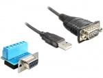 Cablu USB la Serial RS-422/485 0.8m, Delock 62406