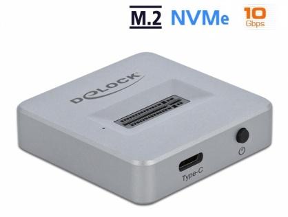 Docking station USB 3.1-C pentru SSD M.2 NVMe PCIe, Delock 64000