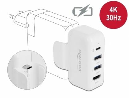 Adaptor pentru alimentator Apple cu PD si HDMI 4K, Delock 64080