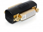 Adaptor DVI-I Dual Link 24+5pini M -M, Delock 65225