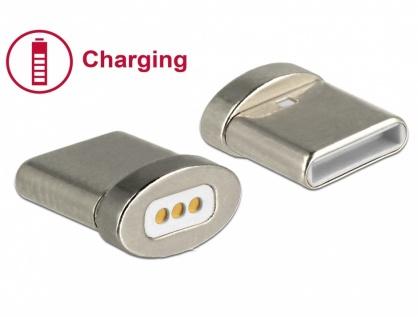 Conector magnetic pentru incarcare USB-C pentru 85705/85725, Delock 65930