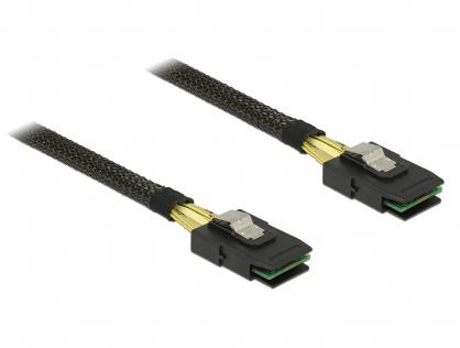 Cablu mini SAS 36 pin SFF 8087 T-T 50cm, Delock 83055