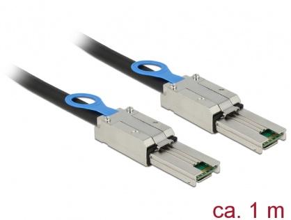 Cablu mini SAS 26 pin SFF 8088 T-T 1m, Delock 83061
