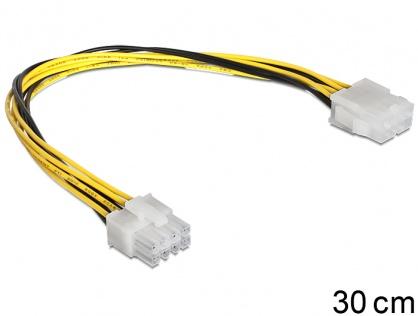 Cablu prelungitor alimentare EPS 8 pini T-M, Delock 83342