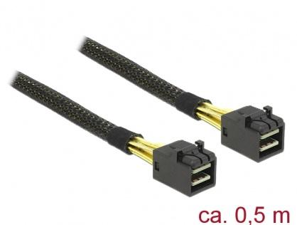 Cablu Mini SAS HD SFF-8643 0.5m, Delock 83386