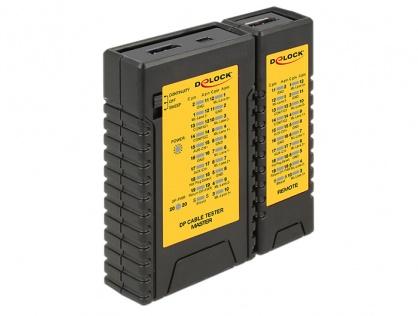 Tester cabluri Displayport, Delock 86120