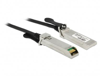 Cablu Twinax SFP+ T-T 3m, Delock 86222