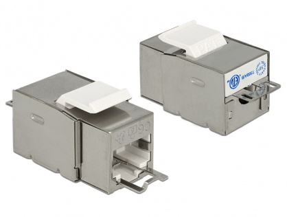 Modul Keystone RJ45 Securizat ecranat Cat.6 > LSA, Delock 86404
