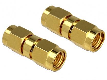 Adaptor SMA Plug la SMA Plug, Delock 88726