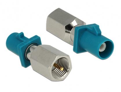 Adaptor FAKRA Z Plug la FME Plug, Delock 88933