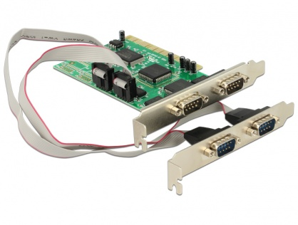 PCI cu 4 x serial RS232, Delock 89046