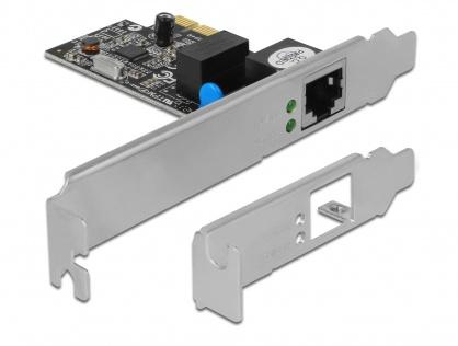 Placa Retea PCI Express Gigabit, low profile, Delock 89156