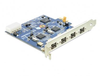 PCI Express cu Dual Channel 2x2 FireWire B, Delock 89208