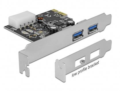 PCI Express cu 2 x USB 3.0, Delock 89243