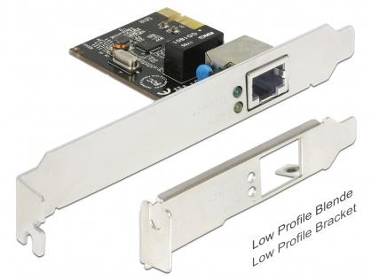 Placa PCI Express Card la 1 x Gigabit LAN, Delock 89357