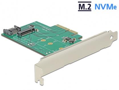 PCI Express la 1 x port NVMe M.2, Delock 89381