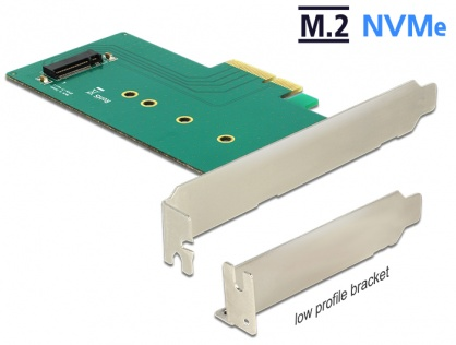 PCI Express la 1 x internal NVMe M.2 Key M 110 mm, Delock 89472
