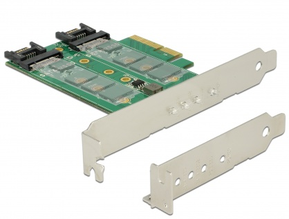 PCI Express la 3 x slot M.2 Low Profile Form Factor, Delock 89518