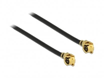 Cablu antena MHF / U.FL-LP-068 plug la MHF / U.FL-LP-068 plug 50cm 1.13, Delock 89611