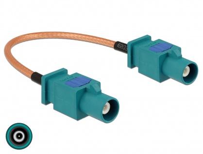 Cablu antena FAKRA Z plug la FAKRA Z plug RG-316 15cm, Delock 89662