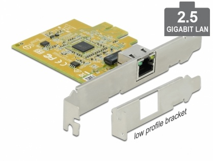 PCI Express la 1 x 2.5 Gigabit LAN, Delock 90440