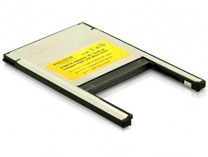 Cititor de carduri PCMCIA la Compact Flash, Delock 91052