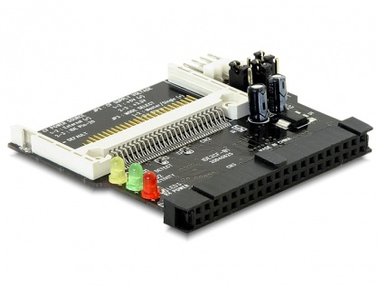 Cititor de carduri IDE 40 pini la Compact Flash, Delock 91620