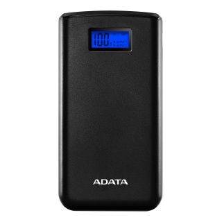 Power bank 20000mA cu 2 x USB si Display, ADATA S20000D LiPo