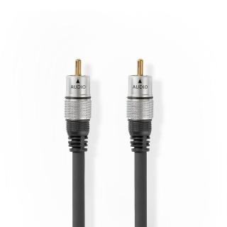 Cablu audio digital coaxial RCA T-T 2.5m, CAGC24170AT25