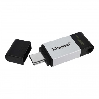 Stick USB 3.2-C 256GB Data Traveler 80, Kingston DT80/256GB