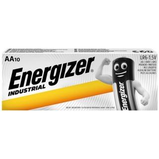 Set 10 buc baterii industriale AA, ENERGIZER
