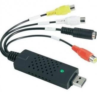 Placa de captura externa USB 2.0 cu RCA,S-Video
