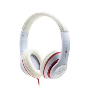 Casti audio externe Los Angeles jack stereo Alb, Gembird MHS-LAX-W