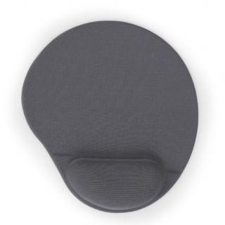 Mouse pad gel cu suport pentru incheietura mainii, Gembird MP-GEL-GR