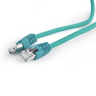 Cablu de retea RJ45 SFTP cat 6A LSOH 0.5m Verde, Gembird PP6A-LSZHCU-G-0.5M