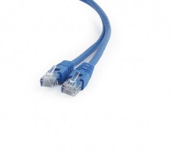 Cablu de retea RJ45 0.25m cat 6 UTP Albastru, Gembird PP6U-0.25M/B