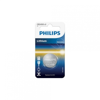 Baterie CR2450 3V Litiu, PHILIPS