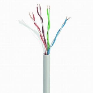 Rola cablu de retea RJ45 fir solid CCA cat 5e 100m, Gembird UPC-5004E-SOL/100