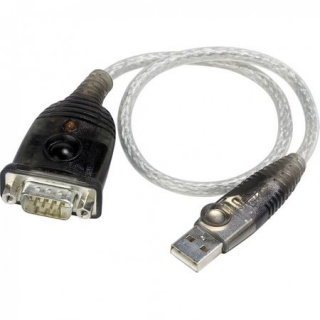 Cablu USB la Serial RS232 0.3m, ATEN UC232A