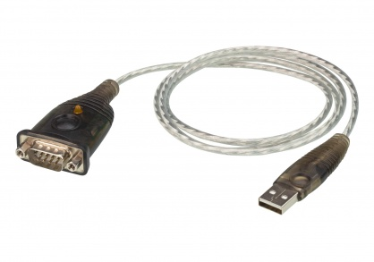 Cablu USB la Serial RS232 1m, ATEN UC232A1