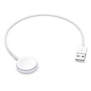 Cablu de incarcare USB-A pentru Apple Watch 1m Alb, Apple MX2E2ZM/A