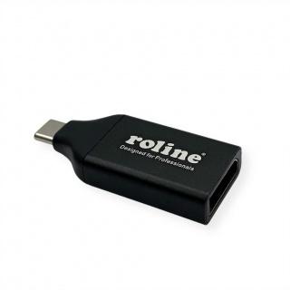 Adaptor USB-C la DisplayPort 1.2 4K60Hz T-M, Roline 12.03.3227