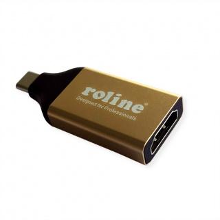 Adaptor GOLD USB-C la HDMI 4K@60Hz T-M, Roline 12.03.3231